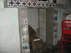 Chimenea entrada tunel castillo de doña Magali. foto por Jorge O. Arboleda